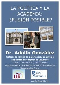 Cartel Adolfo González