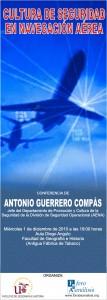 Cartel Antonio Guerrero