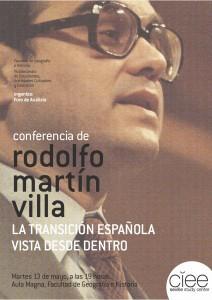 Cartel Martín Villa