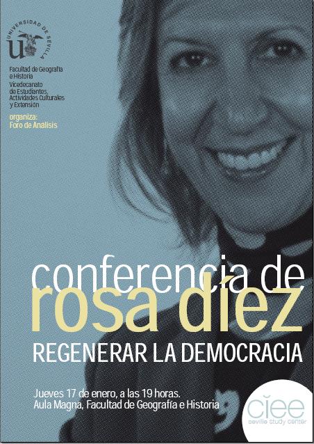 Cartel Rosa Díez