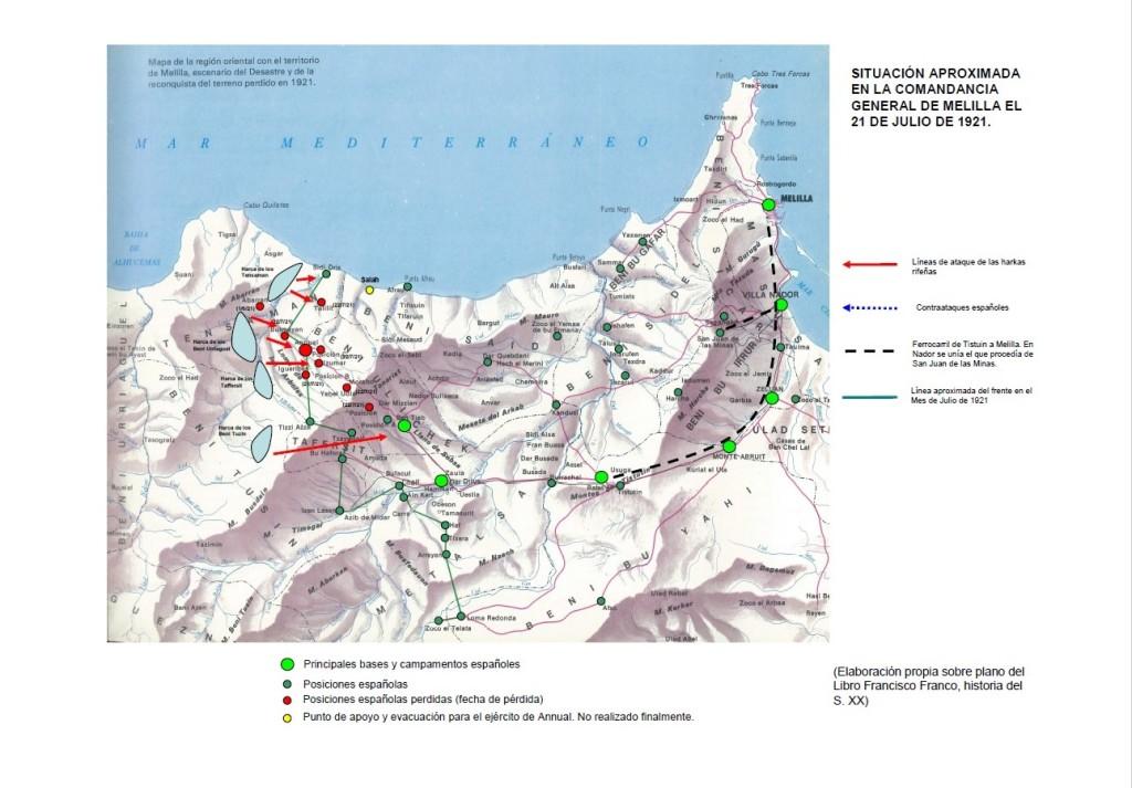 Mapa 21 julio