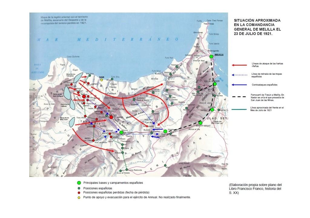 Mapa 23 julio